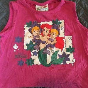 Vintage 1990's The Little Mermaid Tank Top